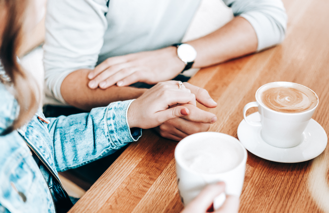 spouse pursuing a meditation conversation